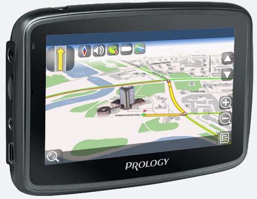 Портативная навигационная система PROLOGY iMap-406AB