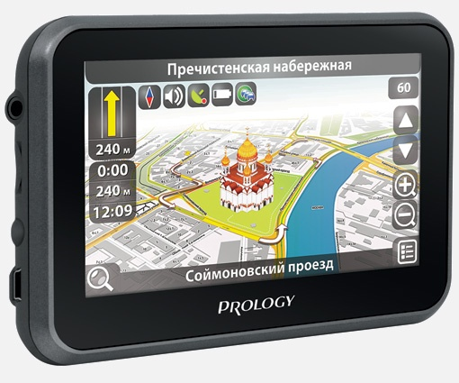 Портативная навигационная система PROLOGY iMap-507A