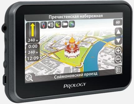 Портативная навигационная система PROLOGY iMap-508AB