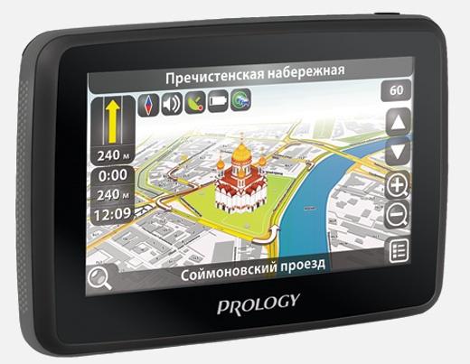 Портативная навигационная система PROLOGY iMap-600M